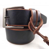 Мужской ремень для джинсов C45-002 коричневый