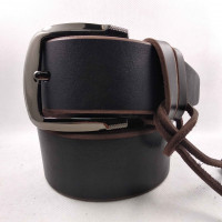 Мужской ремень для джинсов C45-003 коричневый
