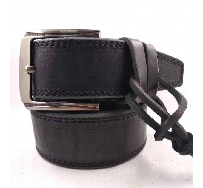 Мужской ремень для джинсов C45-008 черный