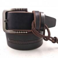 Мужской ремень для джинсов C45-009 коричневый
