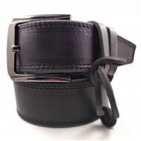 Мужской ремень для джинсов C45-012 черный