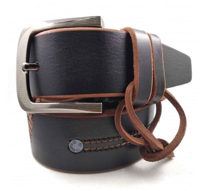 Мужской ремень для джинсов C45-013 коричневый