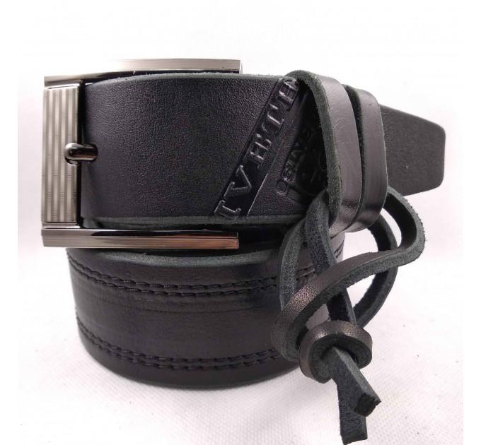 Мужской ремень для джинсов C45-015 черный
