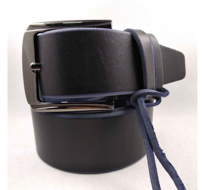 Мужской ремень для джинсов C45-016 синий