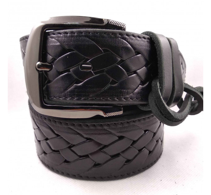 Мужской ремень для джинсов C45-018 черный