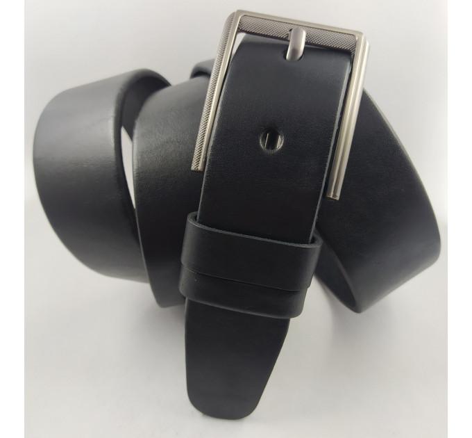 Мужской джинсовый ремень большого размера Oscar BC40-001 черный