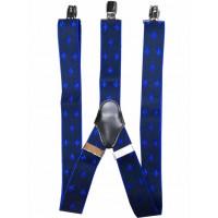 Мужские подтяжки P35-052 синие