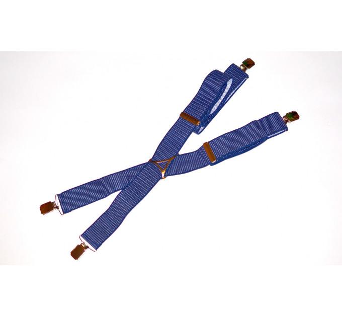Подтяжки галстучные P35-002 синий