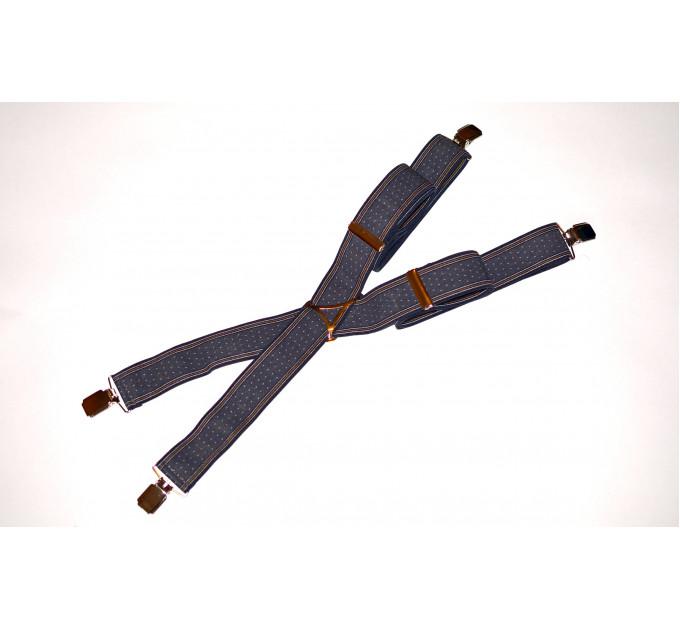Подтяжки галстучные P35-004 серый