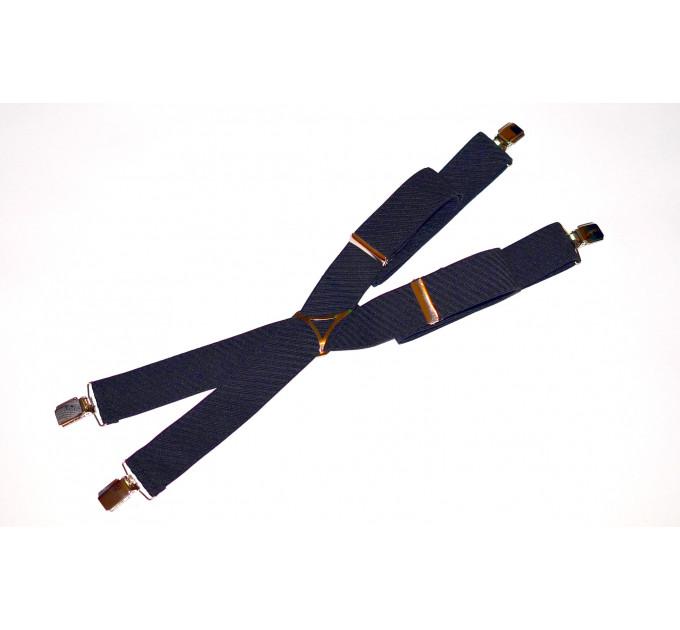Подтяжки галстучные P35-010 синий