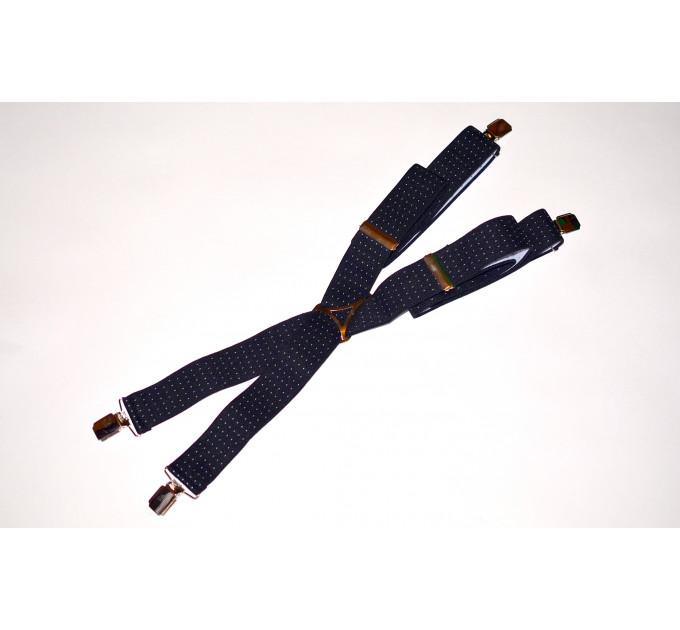 Подтяжки галстучные P35-013 синий