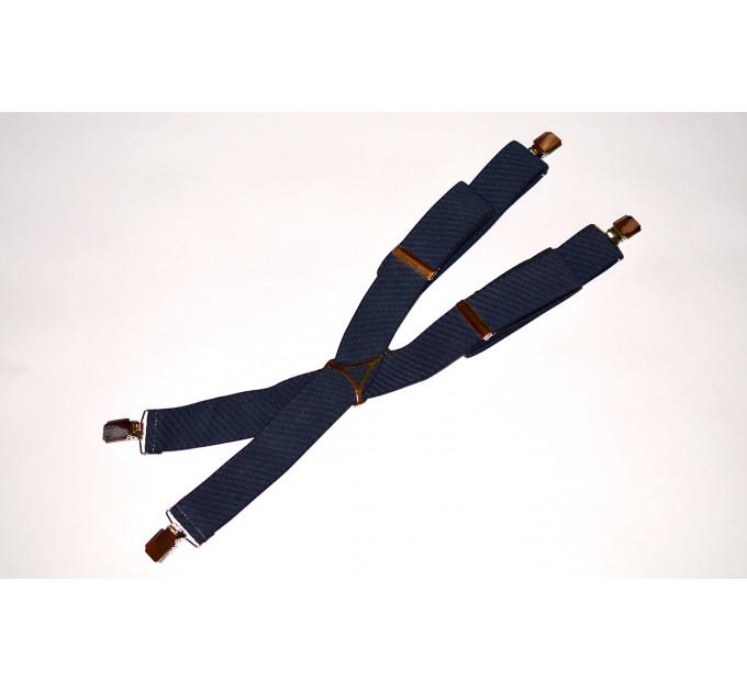 Подтяжки галстучные P35-014 синий