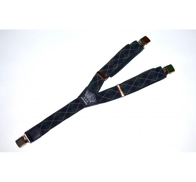 Подтяжки галстучные P35-021 зеленый