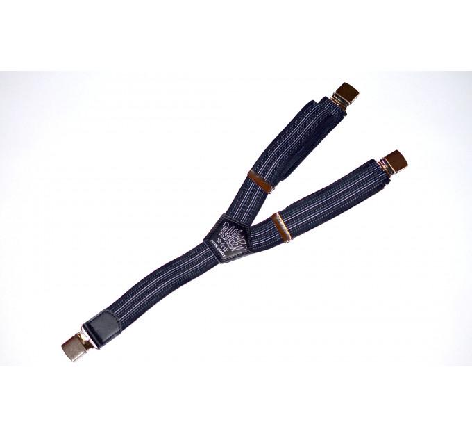 Подтяжки галстучные P35-024 синий