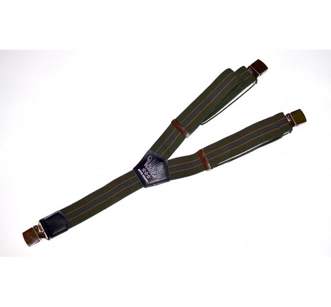 Подтяжки галстучные P35-026 зеленый