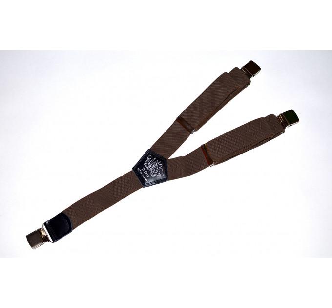 Подтяжки галстучные P35-029 коричневый