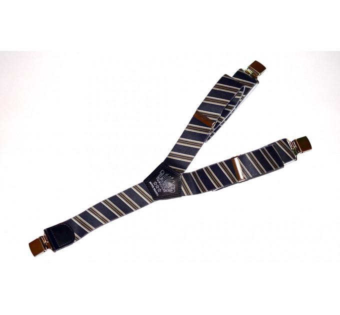 Подтяжки галстучные P40-001 синий