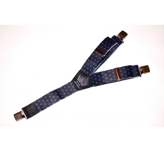 Подтяжки галстучные P40-004 синий