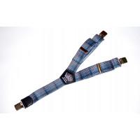 Подтяжки галстучные P40-005 синий