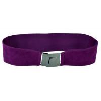 Женский ремень-резинка rez-025 фиолетовый