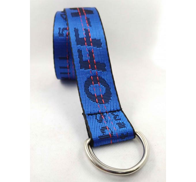 Текстильный ремень стропа S40-030 синий