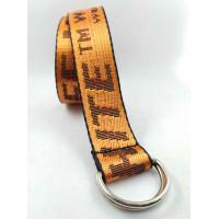 Текстильный ремень стропа S40-036 оранжевый