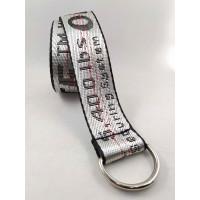 Текстильный ремень стропа S40-037 серебряный