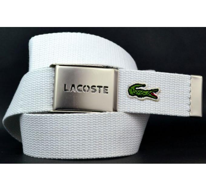 Ремень текстильный lac40-001 белый