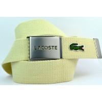 Ремень текстильный lac40-003 бежевый