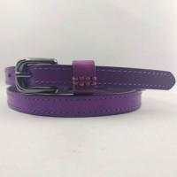 Женский ремень BT.BELT узкий uz15-008 фиолетовый