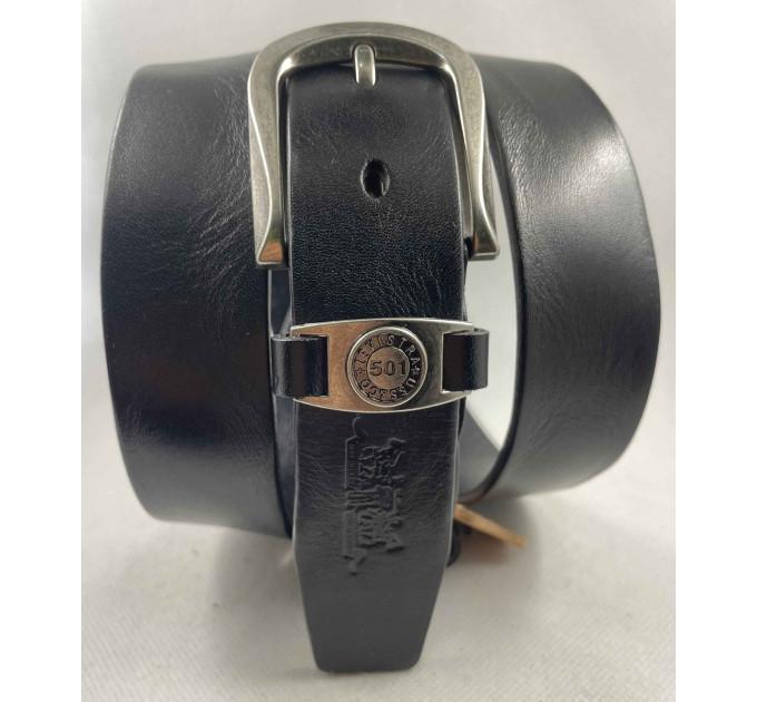 Женский ремень Exclusive джинсовый lv35-001 черный
