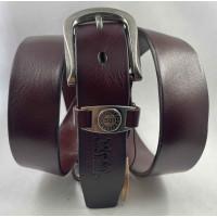 Женский ремень Exclusive джинсовый lv35-002 коричневый