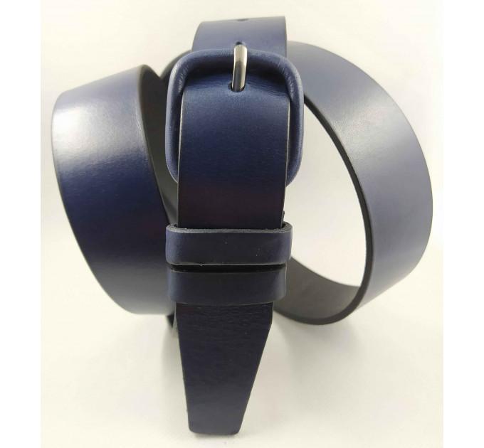 Женский ремень классический New Style J35-026 синий