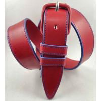 Женский ремень классический Millennium J35-036 красный