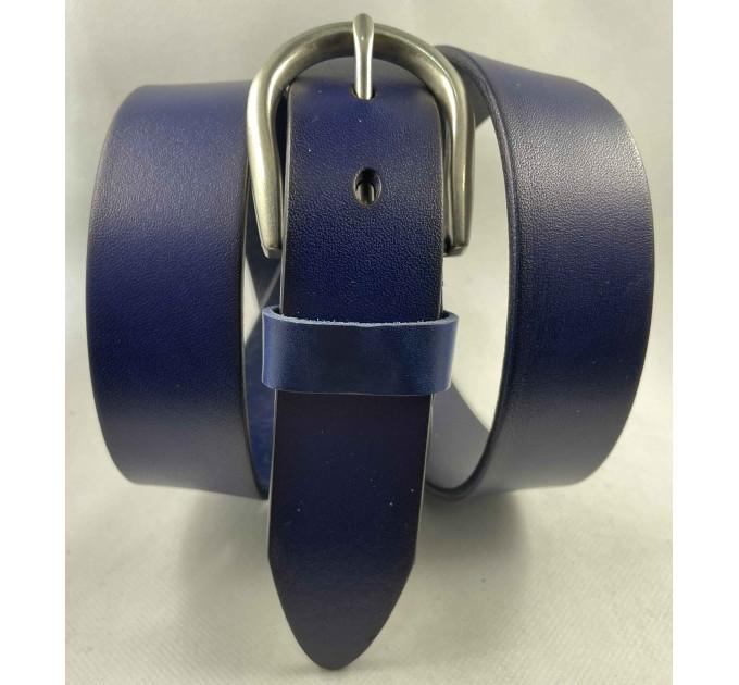 Женский ремень BT.BELT джинсовый J35-047 синий