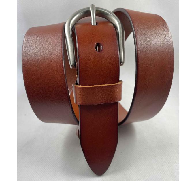 Женский ремень BT.BELT джинсовый J35-048 рыжий
