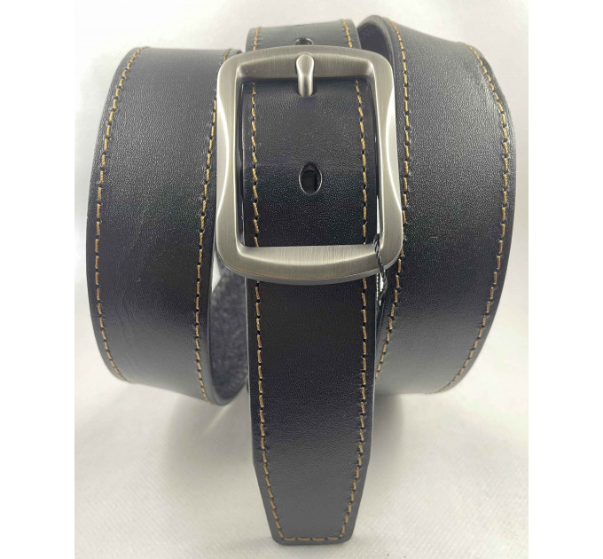 Женский ремень BT.BELT джинсовый J35-049 черный