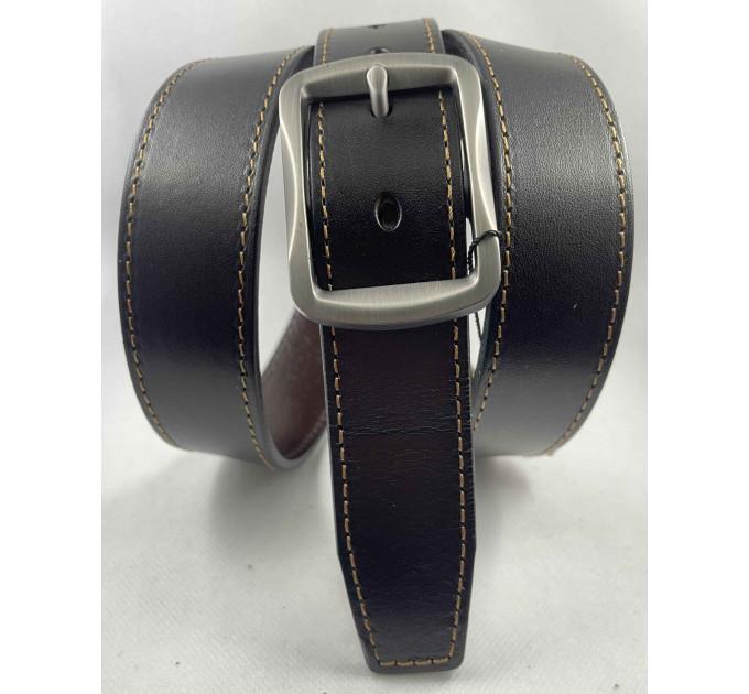 Женский ремень BT.BELT джинсовый J35-051 темно-коричневый