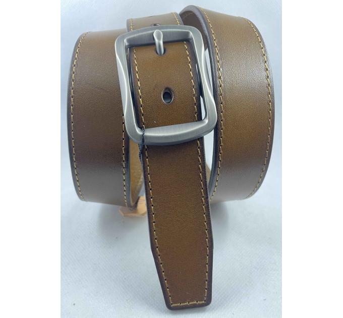Женский ремень BT.BELT джинсовый J35-053 коричневый