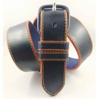 Женский ремень джинсовый Millennium J40-129 темно-синий