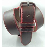 Женский ремень джинсовый Millennium J40-136 темно-коричневый